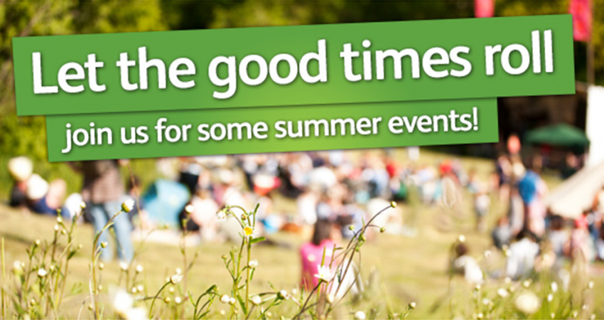 Join us for some summer events