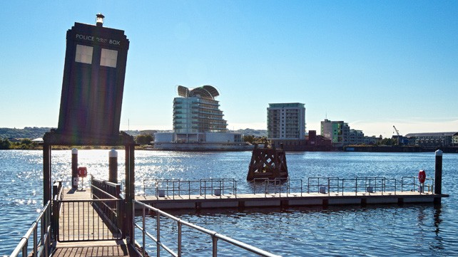 Cardiff Bay Dr Who