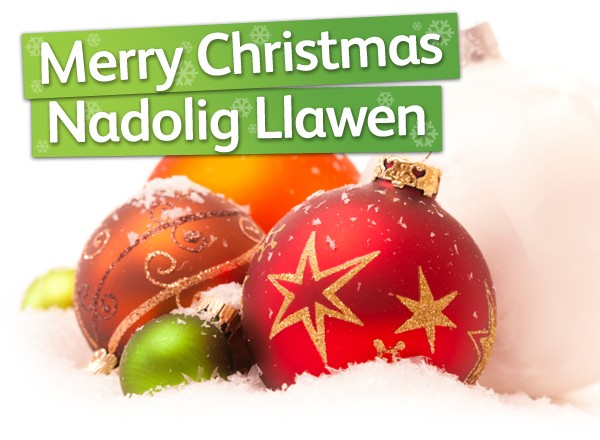 Merry Christmas from Traveline Cymru