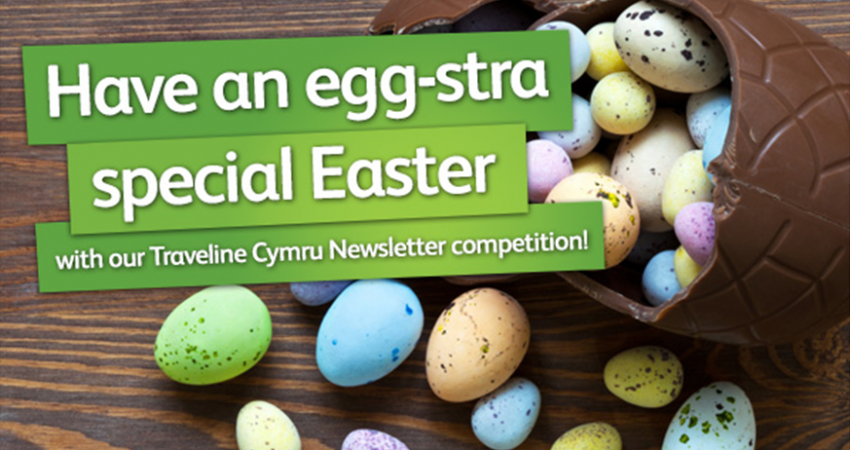 Traveline Cymru Easter Competition