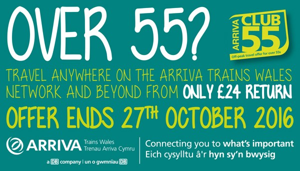 Arriva Trains Wales Club 55