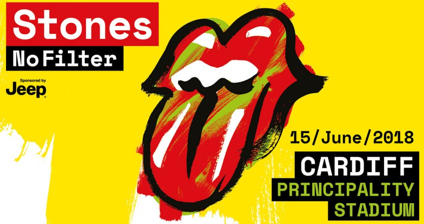 Rolling Stones: No Filter Tour. Principality Stadium, Cardiff