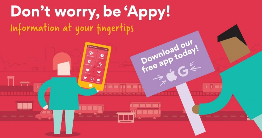 Don't worry, be 'Appy! Top 5 Tips to using our journey planning app