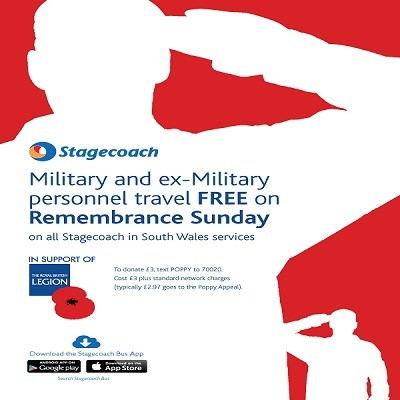 Stagecoach Poppy Appeal