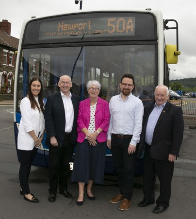 Stagecoach in South Wales provide bus connections to the Royal Gwent Hospital