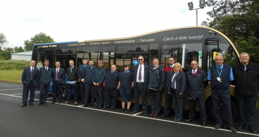 Caerphilly driver is named as South Wales Bus Driver of the Year