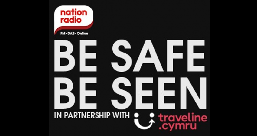Traveline Cymru partners with Nation Radio for 'Be Safe Be Seen' 2019 campaign
