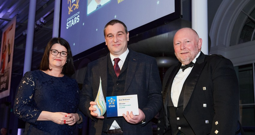 Stagecoach recognises star employees at annual awards
