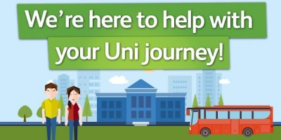 Started University? We're here to help with your Uni journey!
