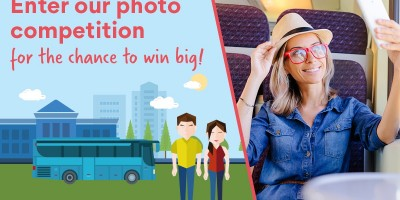 Win a one year 16-25 travel card with our photo competition!
