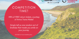 St David's Day competition Traveline Cymru