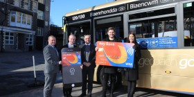 Go contactless with Stagecoach in South Wales