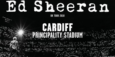 Ed Sheeran UK Tour. Principality Stadium, Cardiff. 21st – 24th June 2018