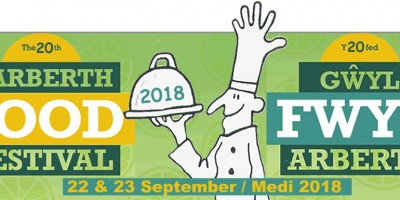 Narberth Food Festival. 22nd - 23rd September 2018