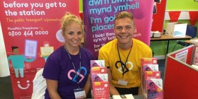 Come and meet the Traveline Cymru team at a Freshers event!