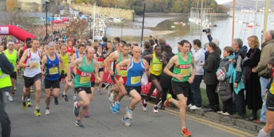 Conwy Half Marathon, 18th November