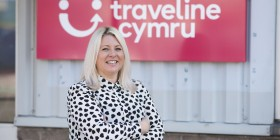Jo Foxall, Managing Director of Traveline Cymru