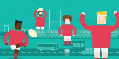 Six Nations 2020: 6 Tips for your Public Transport Travels!