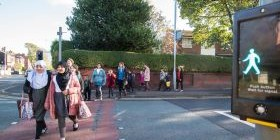 Living-Streets-International-Walk-To-School-Month-Traveline-Cymru