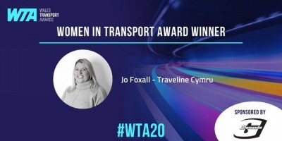Traveline Cymru Managing Director Jo Foxall on…the Role of Women in the Transport Sector Today