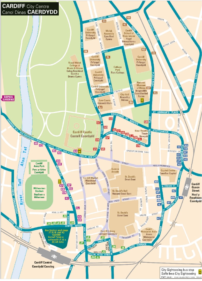 Cardiff Bus Station Closure From Saturday 1st August 2015